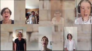 Pour Yom Haasmaout la chorale du Bnai Brith IDF chante l'Hatikva