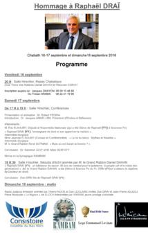 Hommage à Raphaël Draï