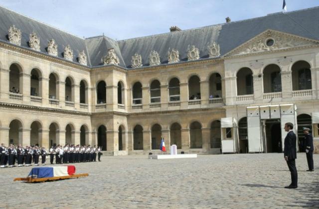 Le Président du B'nai B'rith France, a assisté à l'hommage national rendu à Madame Simone Veil