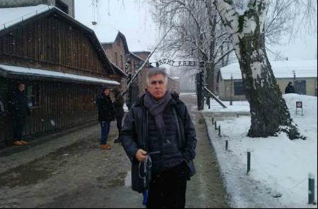 Visite du Président du B'nai B'rith Europe à Auschwitz