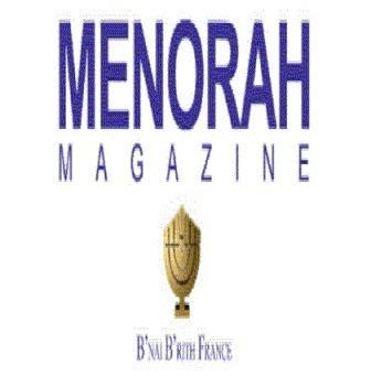 MENORAH - le journal du B'nai B'rith de France