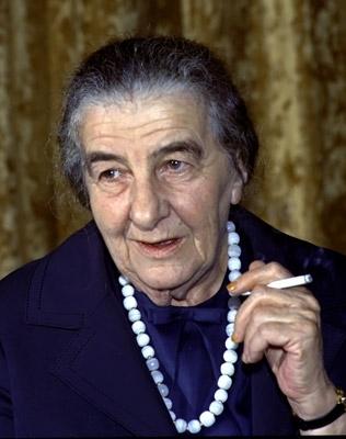 Il y a 33 ans jour pour jour : mort de Golda Meir