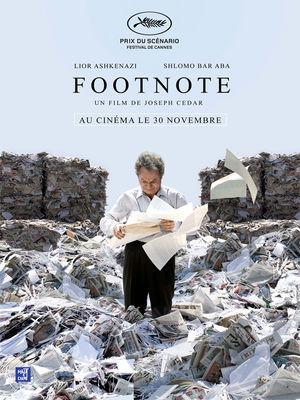 Une critique du film israélien FOOTNOTE