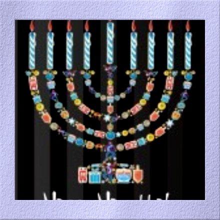 Joyeuses fêtes de Hanoukka