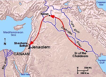 Quatre épisodes du cycle Biblique - sur Abraham