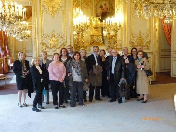 B'NAI B'RITH LOGE EMILE ZOLA VOYAGE A PARIS – ASSEMBLEE NATIONALE