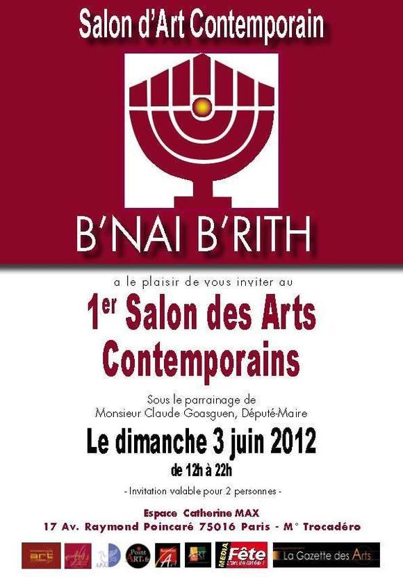 1er Salon  des Arts Contemporains Du B'nai B'rith
