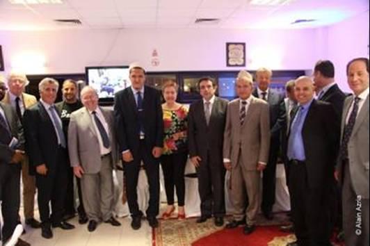 B'nai B'rith France Invité par l'Imam Hassen CHALGHOUMI A la rupture du Jeune le 31/07/2012