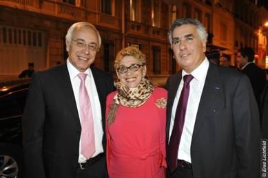 S.E l'Ambassadeur – Mme Hoffman Rispal – Serge Dahan