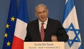 Discours de Monsieur le Premier Ministre de l'Etat d'Israël Benjamin Natanyahu à Toulouse