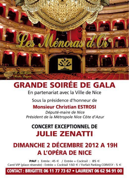 Les MENORAH D'OR, DIMANCHE 2 DECEMBRE