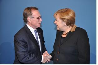 Rencontre entre le B'nai B'rith et Mme Angela Merkel