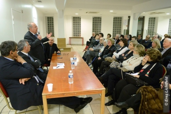 Le B'nai B'rith France rencontre Richard Prasquier