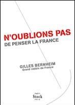 Gilles Bernheim «N'oublions pas de penser la France»