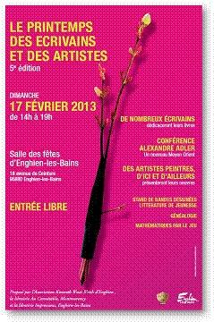 5ième Edition du Printemps des écrivains et des artistes