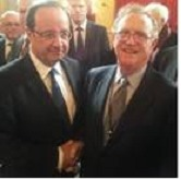 Le Président de la République François Hollande & A. Jacobs