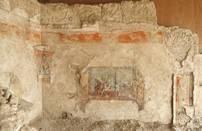 Vu de l'angle sud-ouest de la salle royale du théâtre d'Hérodium, lors de sa découvert