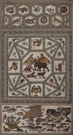 La mosaïque romaine de Lod déploie son incroyable bestiaire au Louvre