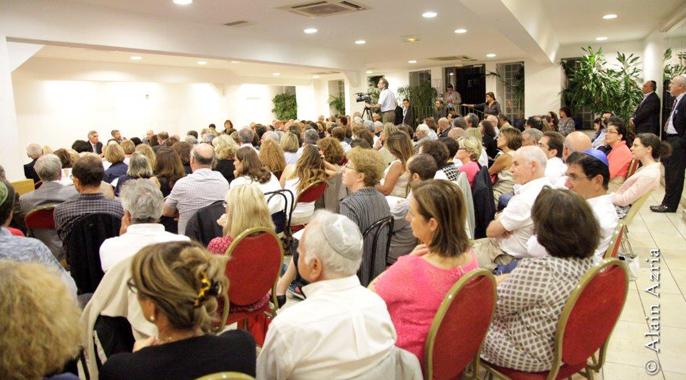 Plus de 300 membres et amis du B'nai B'rith lors de la « Rencontre & Dialogue »