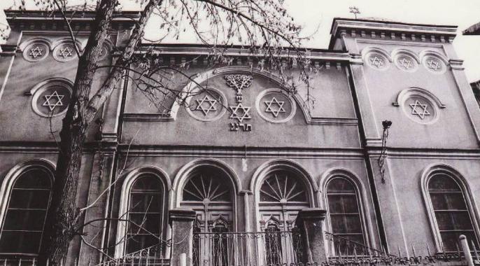 Inauguration de la synagogue de Tulcea (Roumanie)