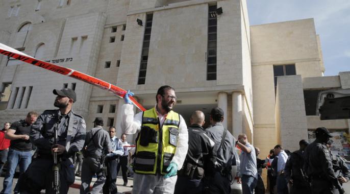 Attaque terroriste contre une synagogue à Jérusalem : quatre fidèles tués