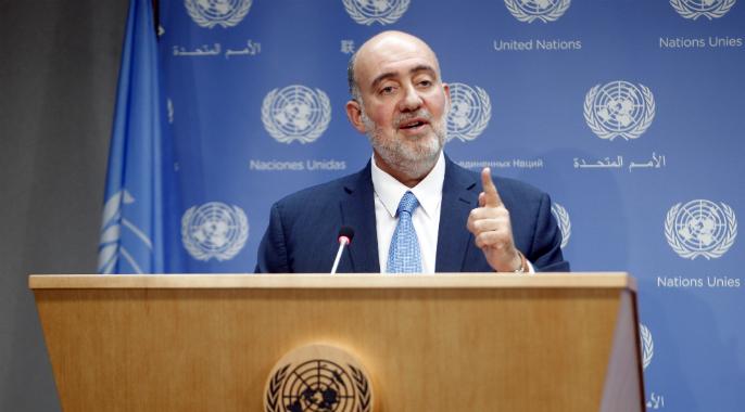 L'Ambassadeur d'Israel, Prosor s'adresse à l'Assemblée Générale de l'ONU