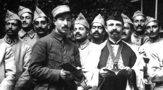 Les juifs pendant la grande guerre