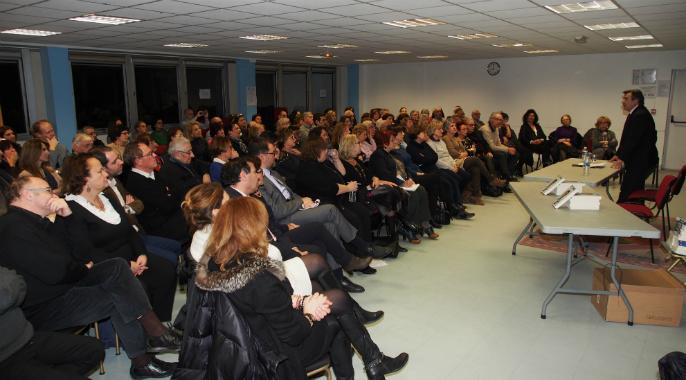 Conférence inter Loges avec Paul Amar à Boulogne