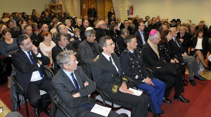 Commémoration de la libération des camps à Grenoble