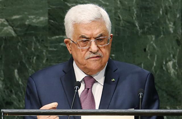 Abbas à l'ONU