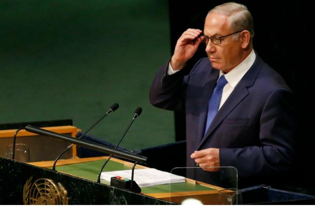Premier Ministre Benjamin Netanyahu à L'ONU
