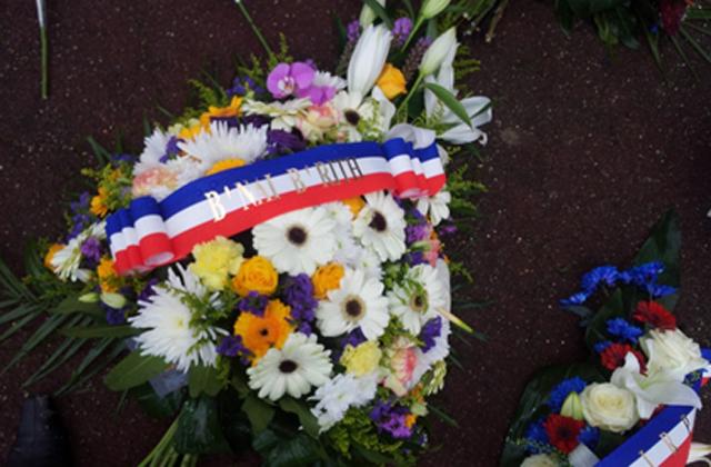 Le B'nai B'rith Grenoble présent à la cérémonie commémorant le 71ème anniversaire de la libération du Camp d'Auschwitz