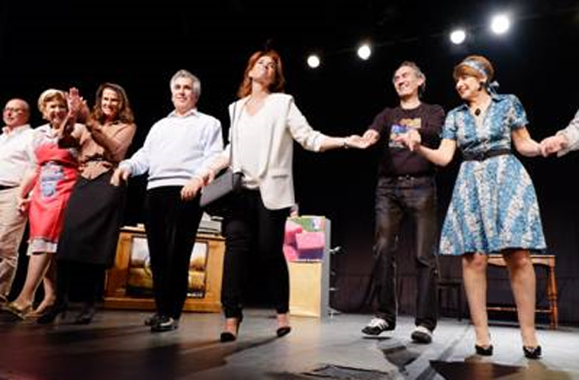 La « Troupe de l'Alliance » de la Loge Or Ve Chalom joue « le ravissement d'Adèle »