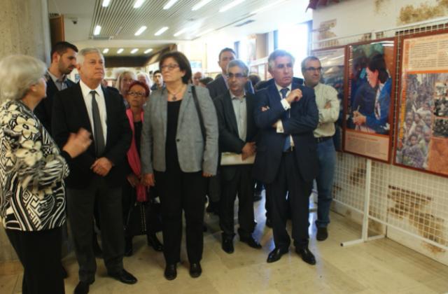 Très belle exposition sur les aides d'Israël dans le monde par la Loge Yonathan Natanyahou