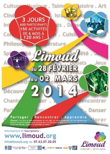 Le B'nai B'rith France au Forum de la Vie Juive « Limoud 2014 »