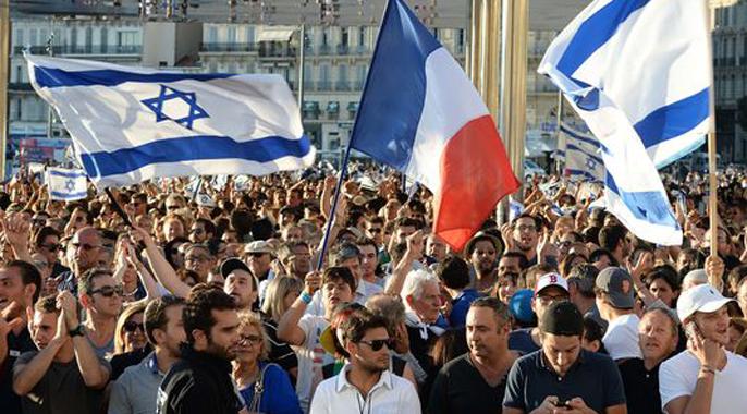 RASSEMBLEMENT DE SOUTIEN à l'ETAT D'ISRAEL