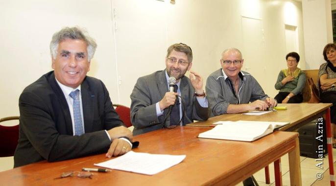 Le B'nai B'rith France a reçu Monsieur le Grand Rabbin de France Haim Korsia