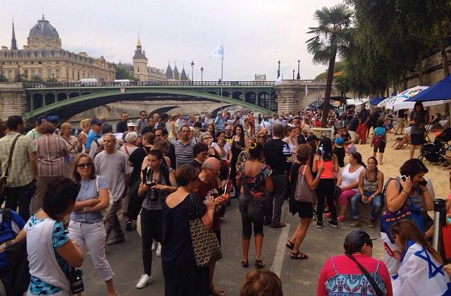 Tel Aviv sur Seine ... Un grand succès