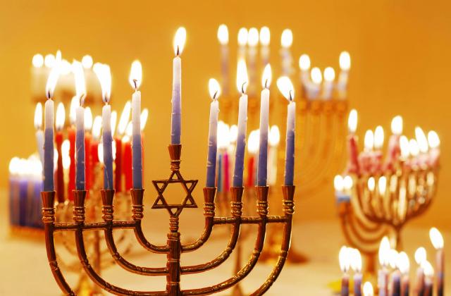 Allumage de la 3ème bougie de Hanoucca organisé par le B'nai B'rith France