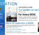 Invitation du Bnai Brith France