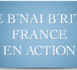 "Nouvelle brochure ""Le B'nai B'rith France en action"""