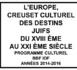Nouvelles de la Commission culturelle du B'nai B'rith Ile de France